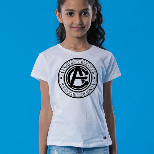 Avengers Club, Matching Marvel Tees For Daughter