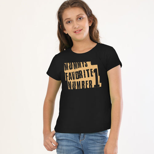 Mommy's favourite number 1 Tees