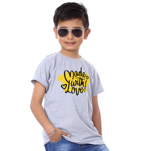 Made With Love Family Tees For Son