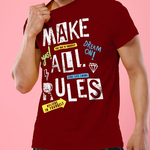 Make All Rules, Tee For Men