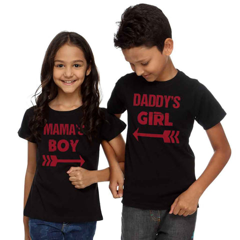 Mommy's-Daddy's Boy and Girl Tee