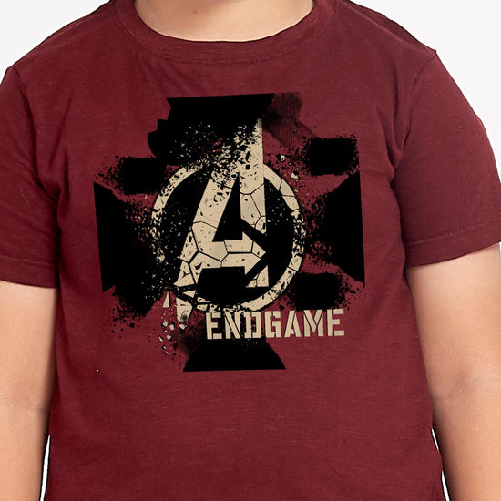 Endgame, Disney Maroon Tees For Boys