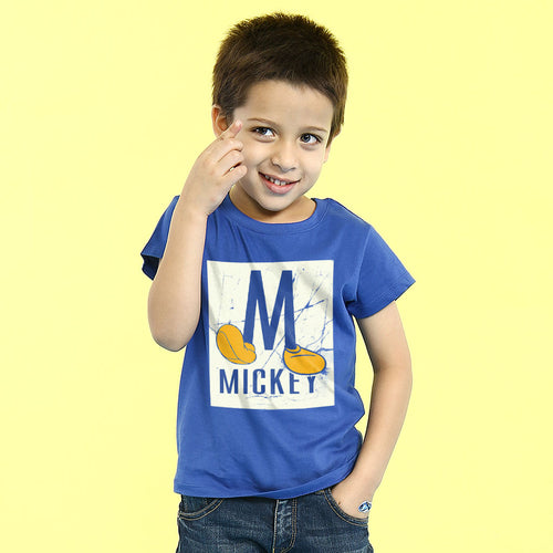 M For Mickey, Disney Tee For Kids