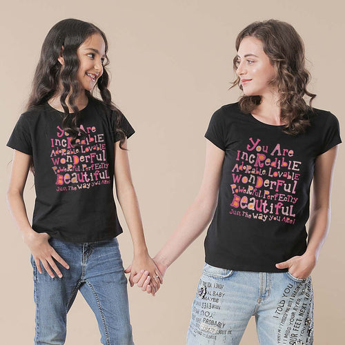 Mom-Daughter You Are Incredible Tees