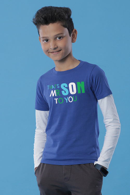 Mom To You Mom & Son Tees for son