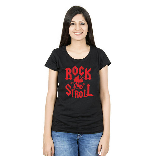 Rock Stroll bodysuit and Tees