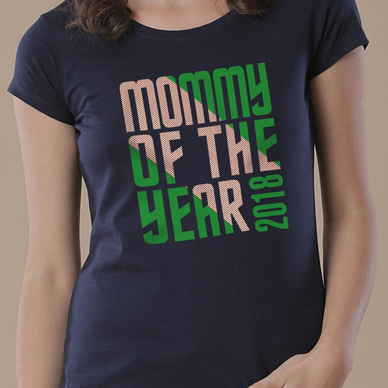 Mommy Of The Year, Personalized Tee For Mom