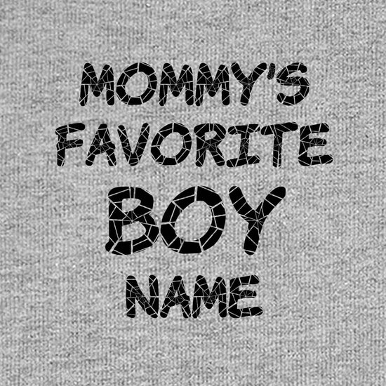 Mommy's Favorite Boy,  Personalized Bodysuit For Baby