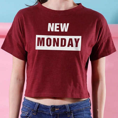 New Monday, Crop Tops For Bffs