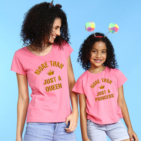 More Than Just Queen Daughter Tees