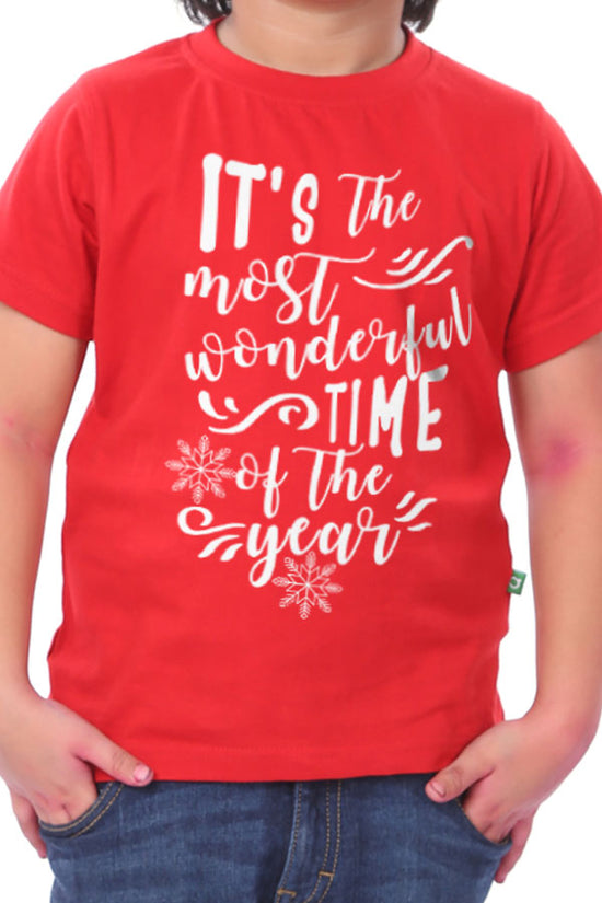 The Most Wonderful Time Of The Year, Brother And Sister Tees