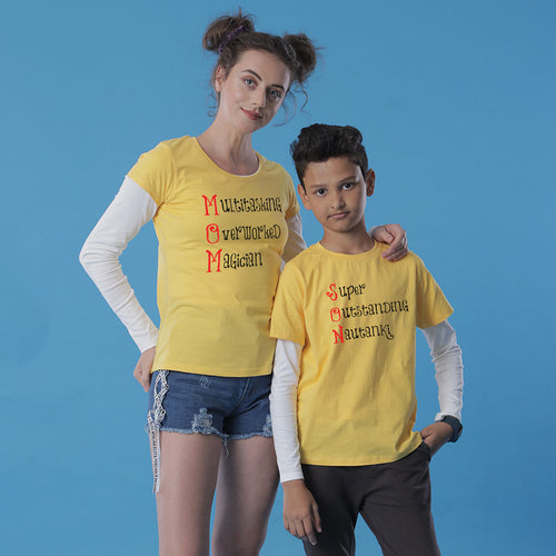 Mother-Son Multitasking Tees