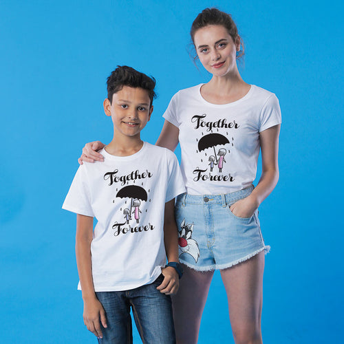 Mother-Son Together Forever Tees