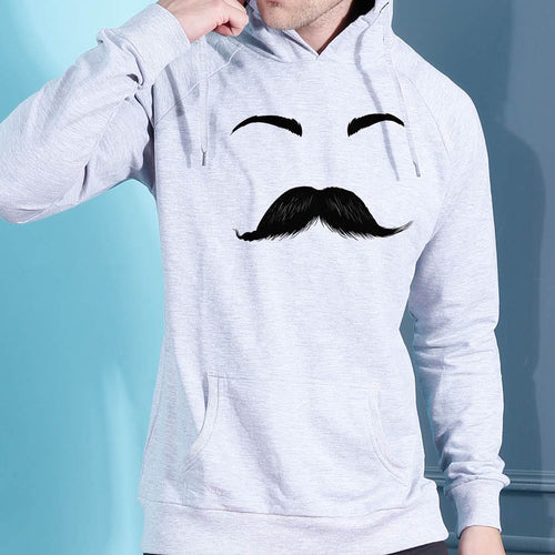 Moustache Eyelashes, Matching Hoodie For Men And Crop Hoodie For Women