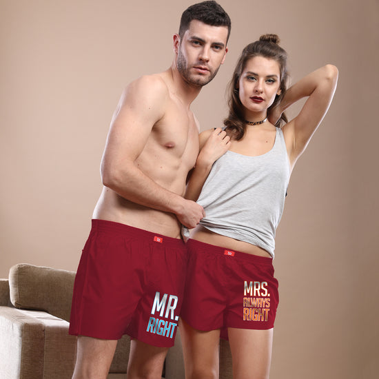 90f4677150 Couple Boxer Valentine's Day Collection