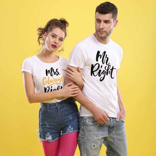 de9162b99d Mrs. Always Right Couple Tees ...