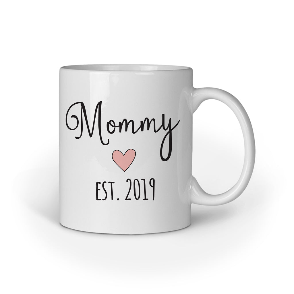 Daddy/ Mommy Est  2019, Couple Mugs