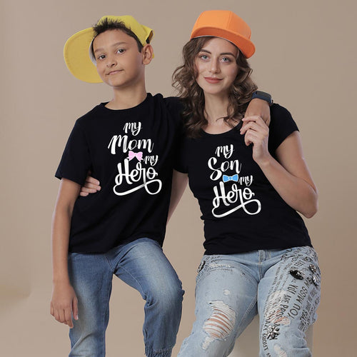 My Hero Mom & Son Tees