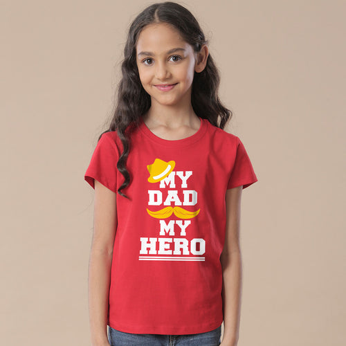My princess / My Hero, Matching Tees For Daughter