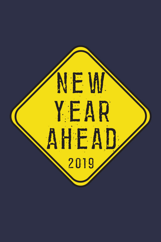 New Year Ahead , New Years Tee For Men