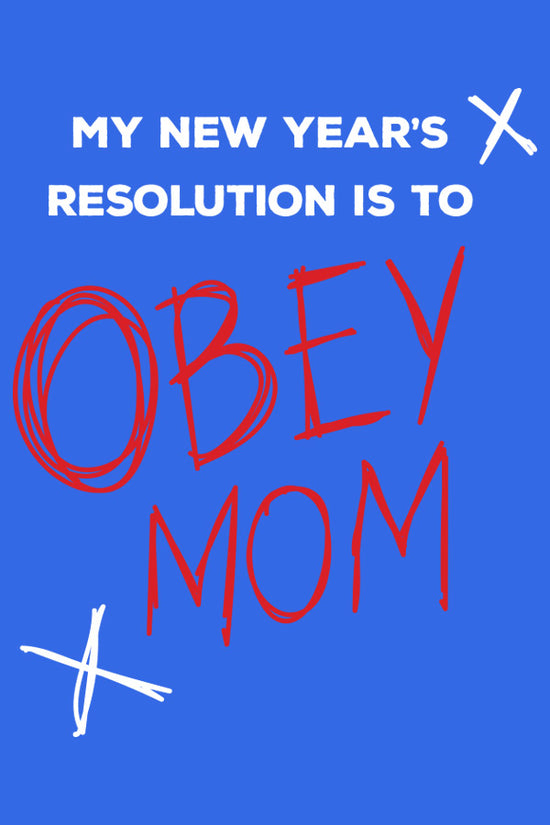 Obey Mom! Matching Dad and Son tees