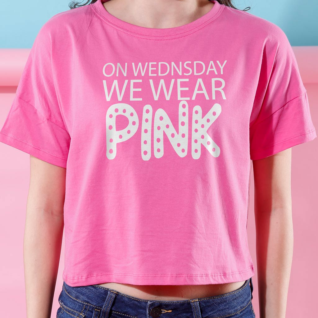 9f2c6d8d6709 On Wednesday We Wear Pink, Crop Tops For Bffs