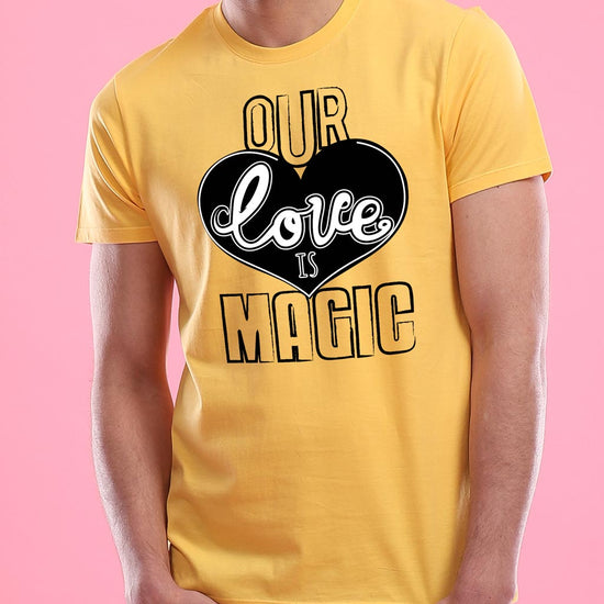 Our Love Is Magic Couple Tees
