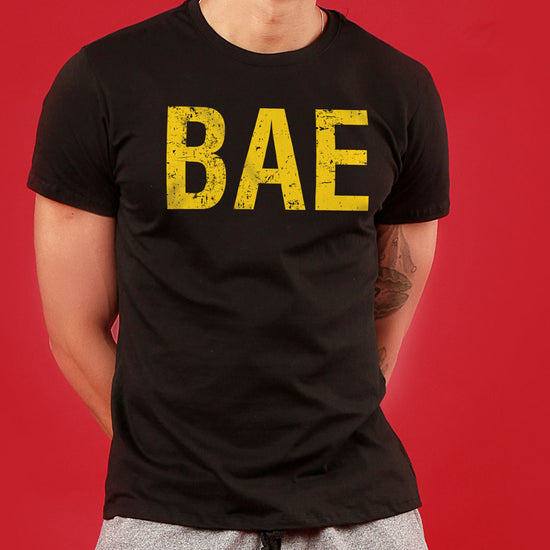 Bae/Owner Of Bae, Matching Couple Crop Top And Tee