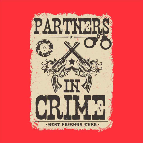 Partners in crime Tees