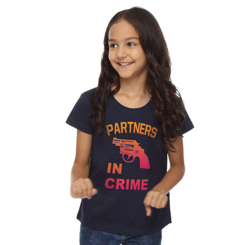 Partners In Crime Dad & Daughter Tees For Daughter