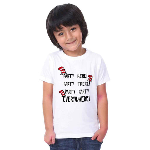 Party Everywhere Birthday Family Tees