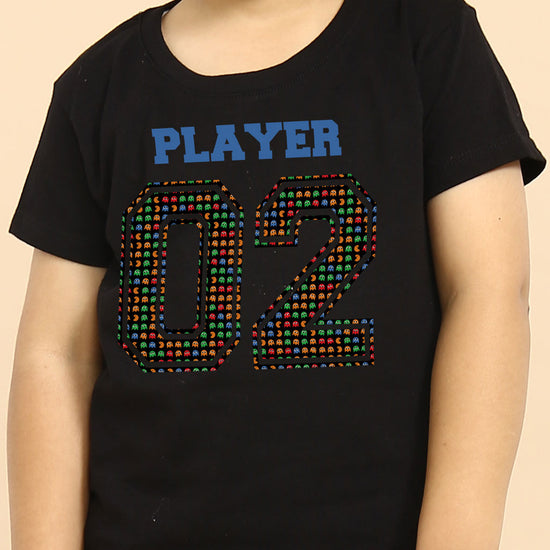Player 01/Player 02 Tees