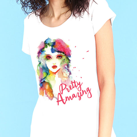 Pretty Amazing Mom Daughter Tees