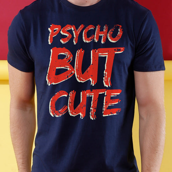 Psychotic Cuteness, Matching Couples Crop Top & Tee