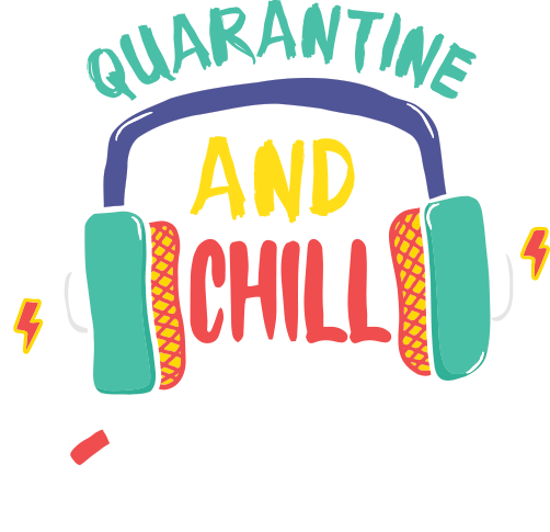 Quarantine And Chill 2020 Matching Dad And Daughter Tees