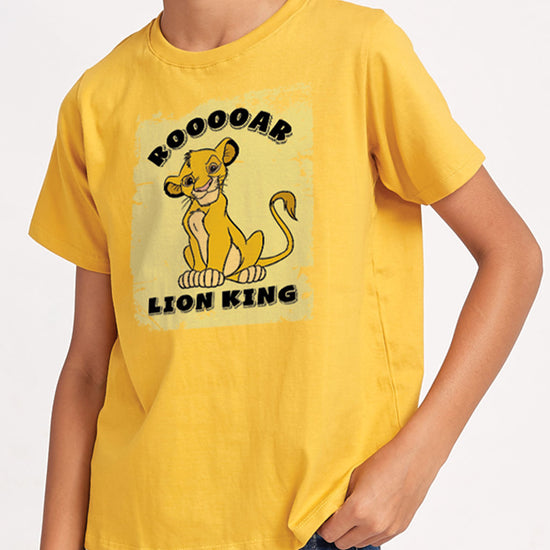The Lion King: Roar, Disney Tees For Kids