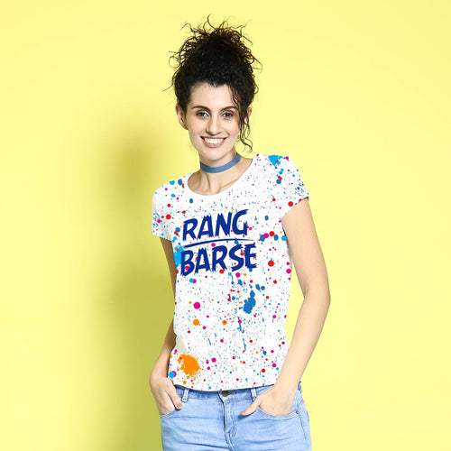 Rang Barse, Matching Couple Tees For Women