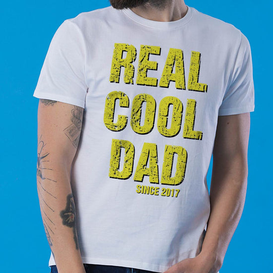 Real Cool Dad, Personalized Tee For Dad