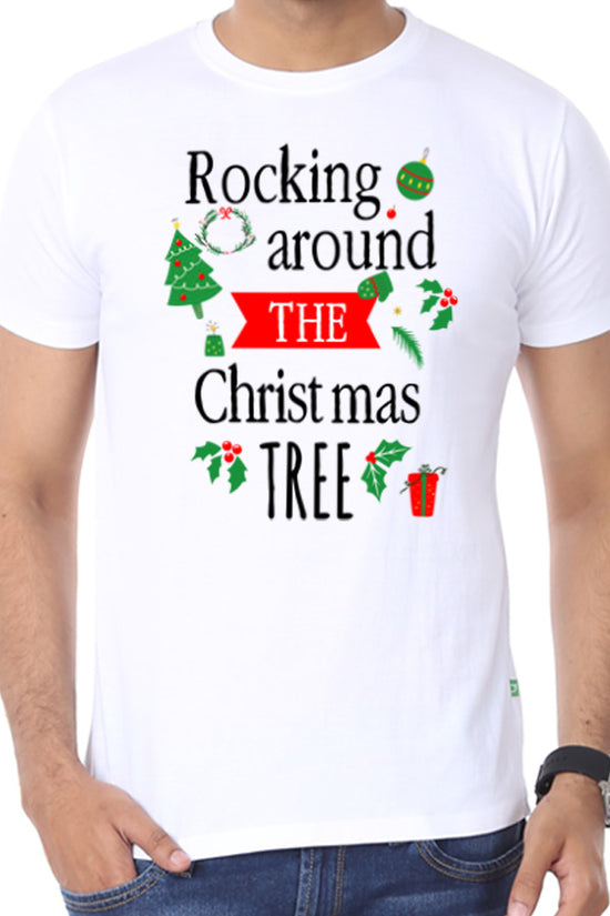 Rocking Around The Tree, Single Tee For Men
