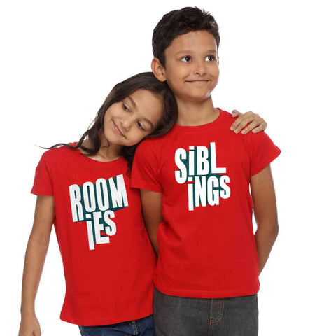 Siblings Roomies Tee
