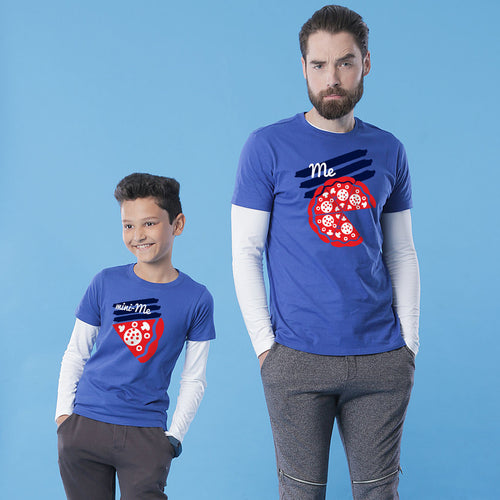 Royal Blue Me/Mini-Me Father-Son Tees