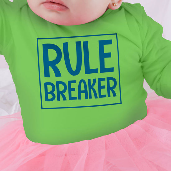 9a102e802 ... Rule Maker/Breaker, Matching Tee And Bodysuit For Mom And Baby (Girl)