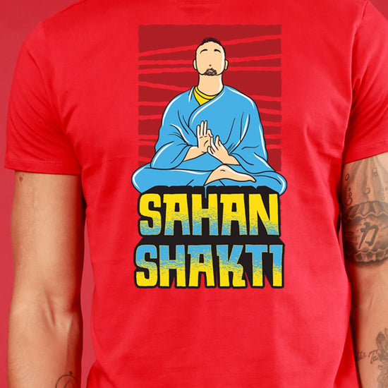 Shakti/Sahan Shakti, Matching Couple Crop Top And Tee