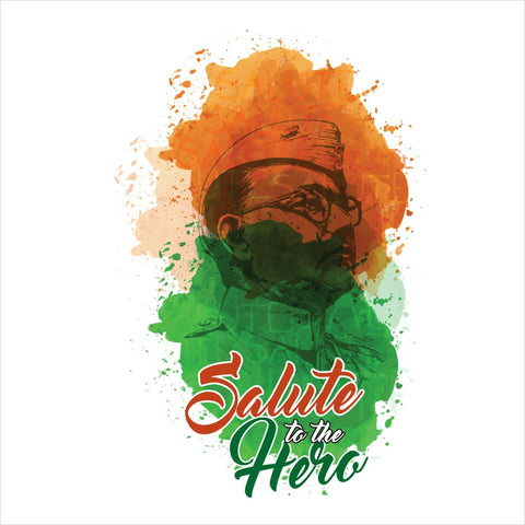 Salute To The Hero Family Tees