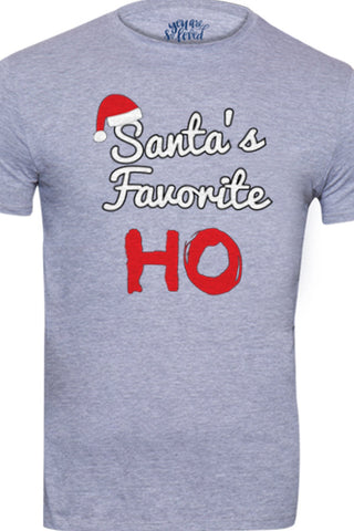 Santa's favorite ho, Big brother and Little brother tees