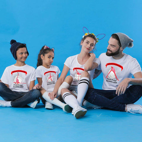 Say Yo To Yoga Family Tees