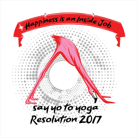Say Yo To Yoga Tee
