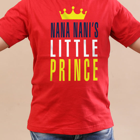 Nana And Nani's Prince And Princess ,Matching Tees For Brother And Sister