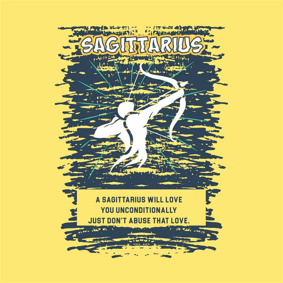 Sagittarius Love Birthday Tee