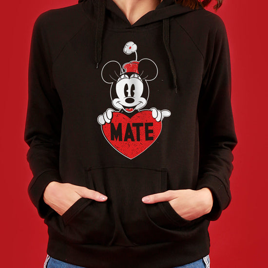 Soul Mate, Disney Black Hoodies For Couples